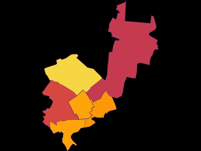 Плотность населения в Breitenau