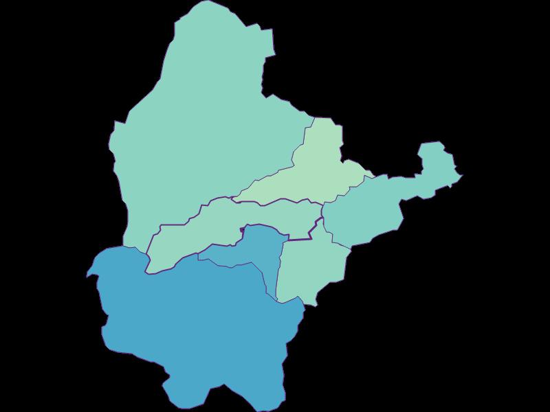 Share of foreigners in Breitenstein
