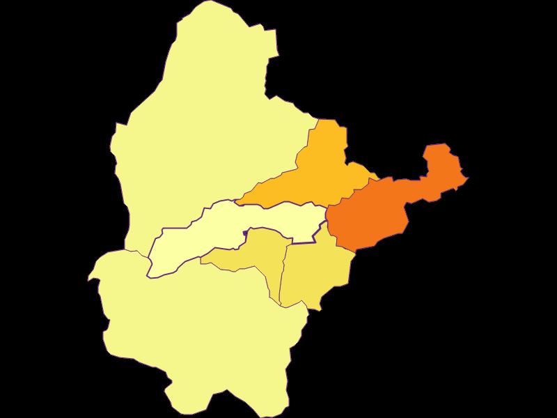 Population density in Breitenstein