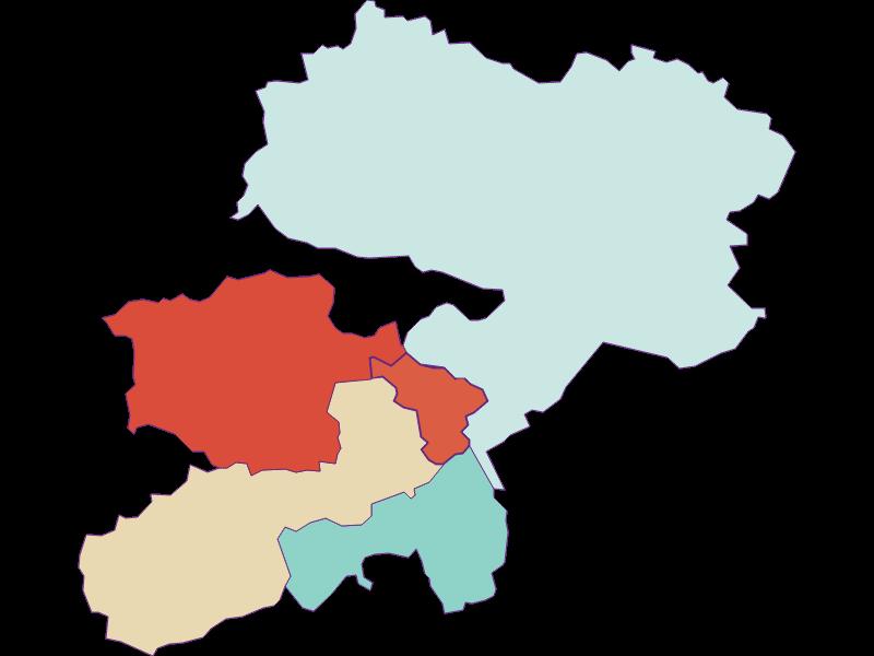 Population development since 1900 in Buchbach