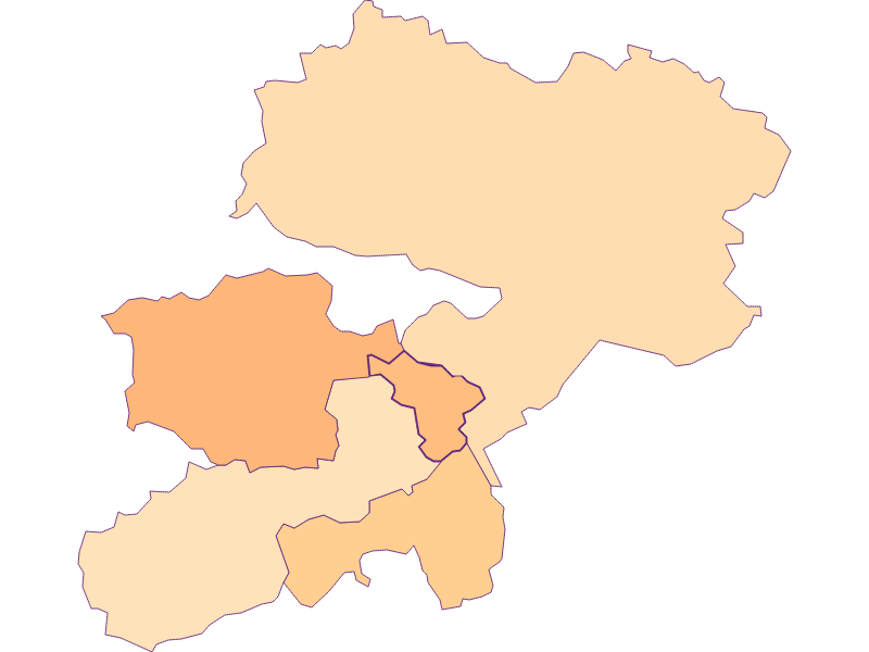 Household size in Buchbach