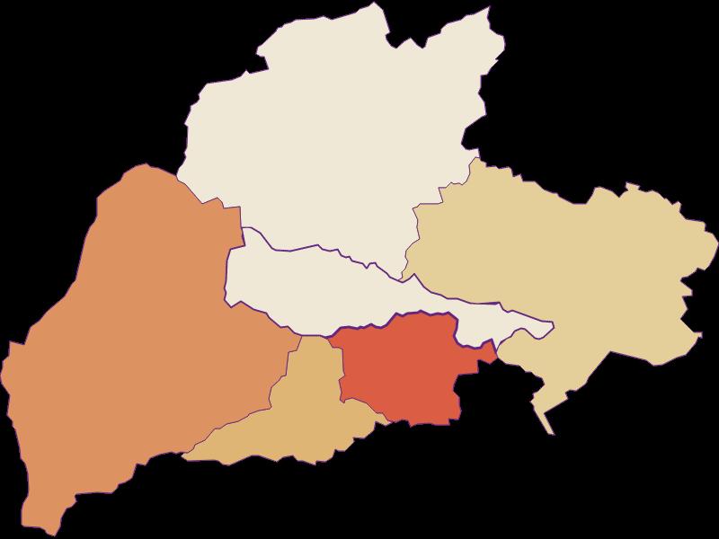 Population development since 2011 in Bürg-Vöstenhof