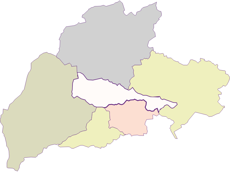Farmers (comparison to federal state) in Bürg-Vöstenhof