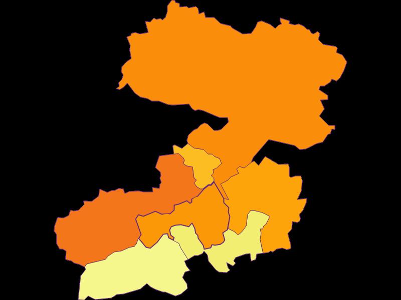 Population density in Enzenreith