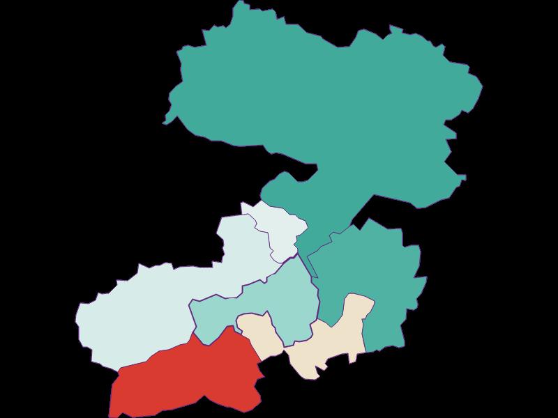 Population development since 1869 in Enzenreith