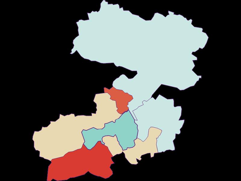 Population development since 1900 in Enzenreith