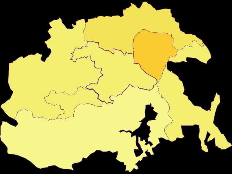 Population density in Feistritz am Wechsel