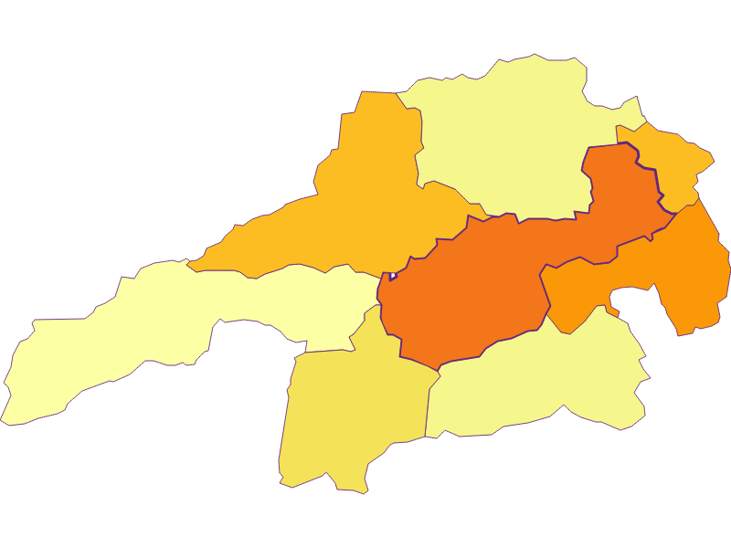 Population density in Gloggnitz