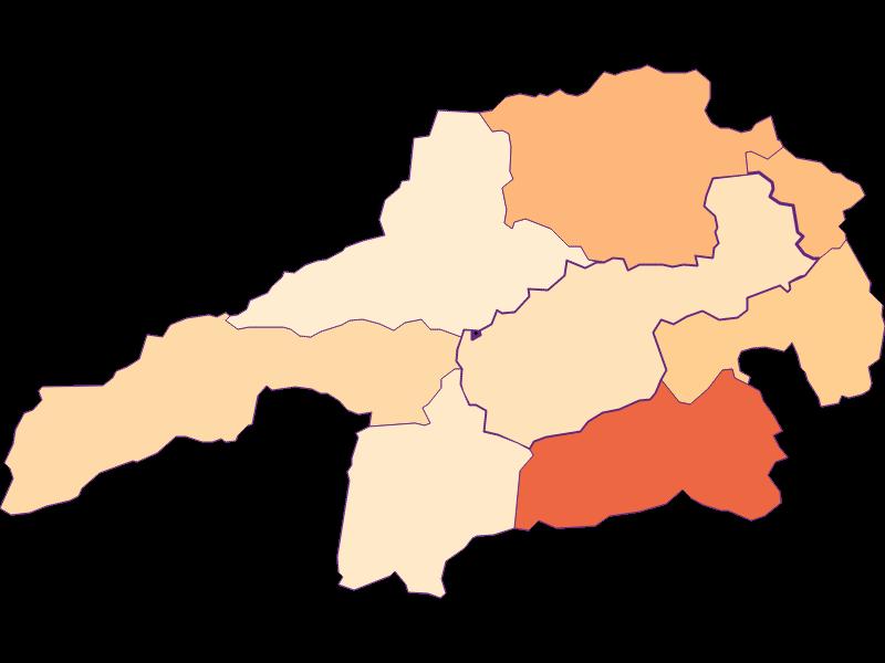 Household size in Gloggnitz