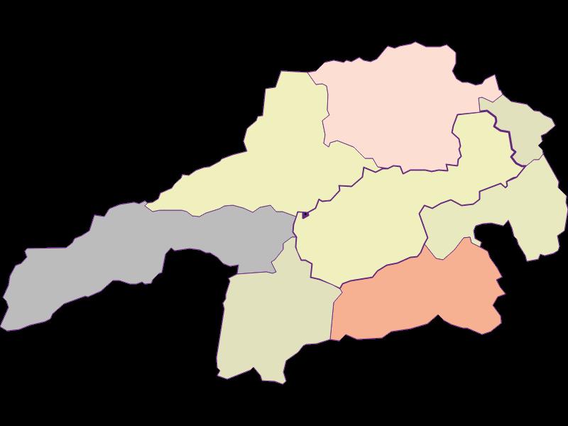 Farmers (comparison to federal state) in Gloggnitz