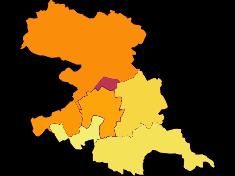 Плотность населения в Grafenbach-St. Valentin