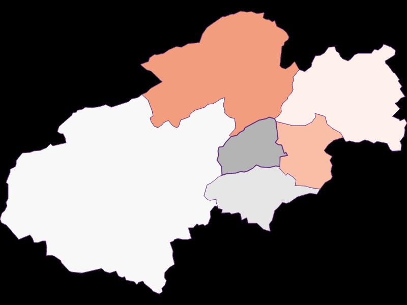 Activity rate in Grünbach am Schneeberg