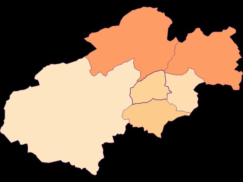 Household size in Grünbach am Schneeberg