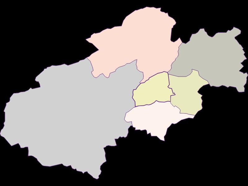Farmers (comparison to federal state) in Grünbach am Schneeberg