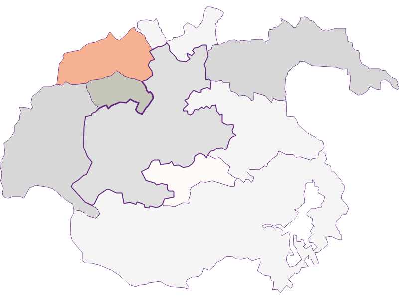 Farmers (comparison to federal state) in Kirchberg am Wechsel