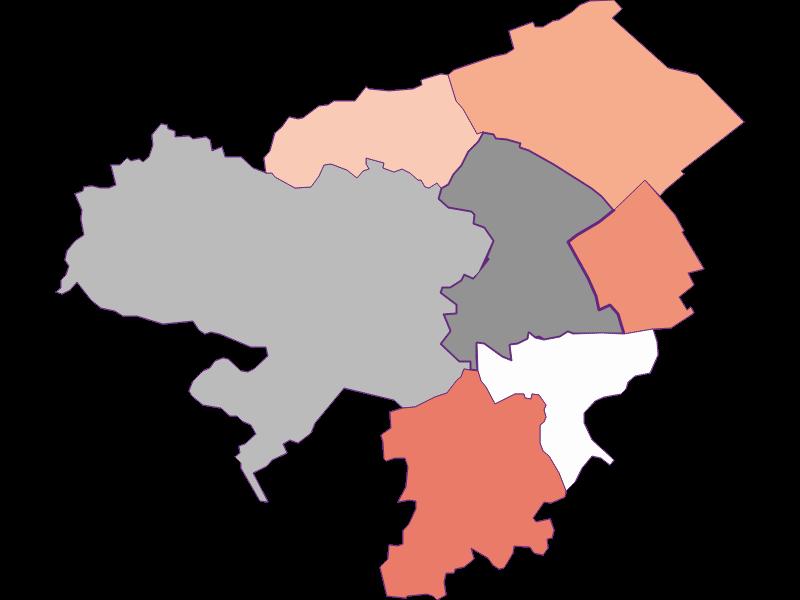 Activity rate in Neunkirchen