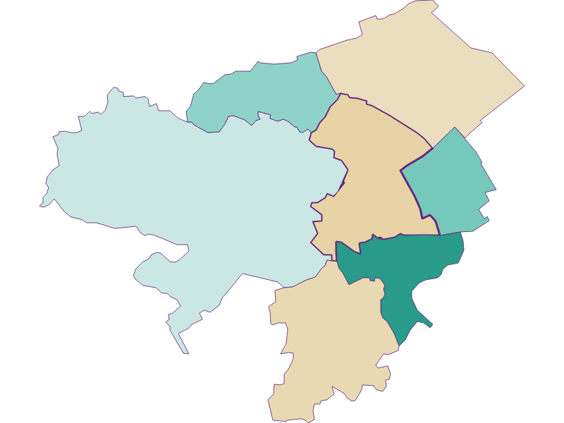 Population development since 1900 in Neunkirchen