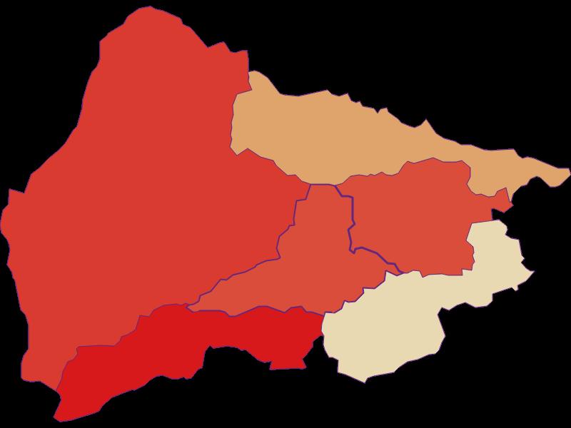 Population development since 1900 in Payerbach