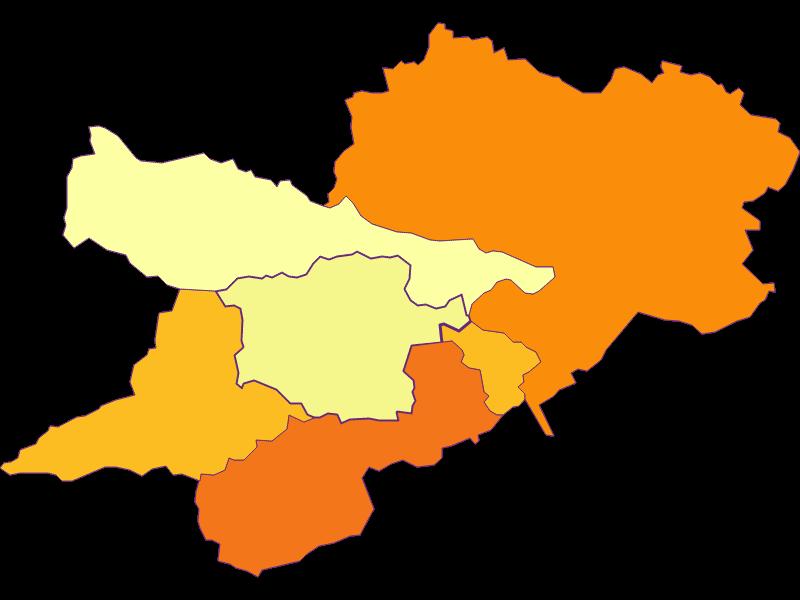 Population density in Prigglitz