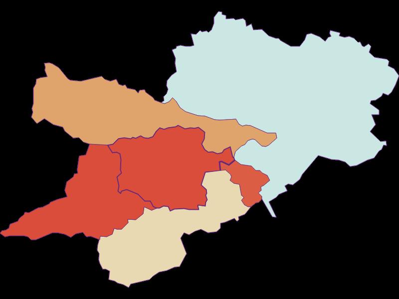 Population development since 1900 in Prigglitz