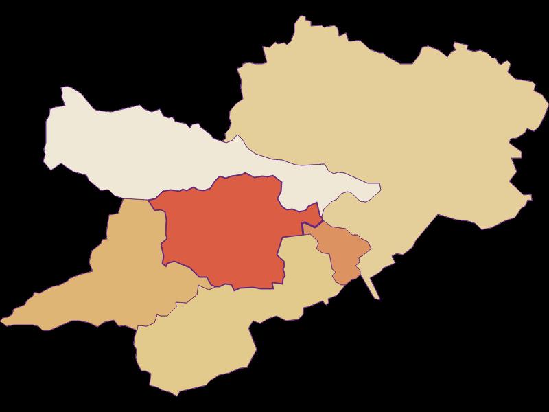 Population development since 2011 in Prigglitz