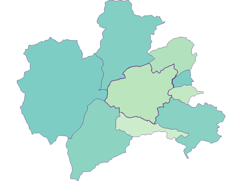 Share of foreigners in Puchberg am Schneeberg