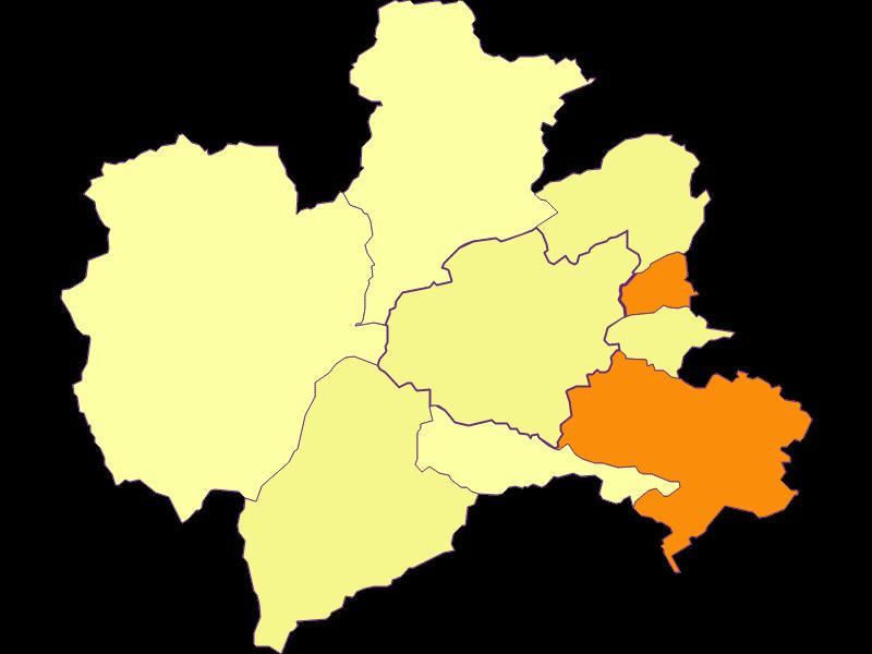 Population density in Puchberg am Schneeberg