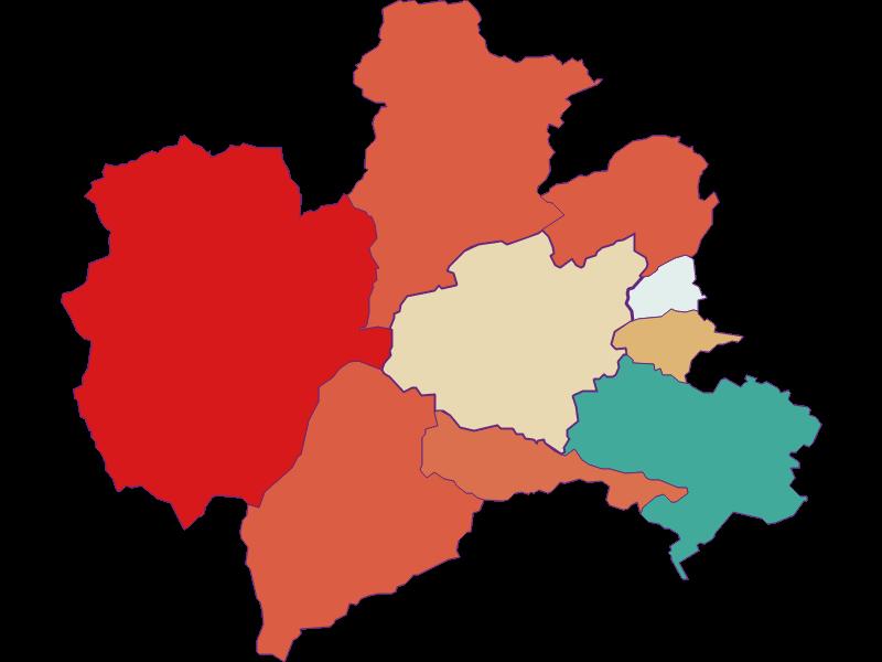 Population development since 1869 in Puchberg am Schneeberg