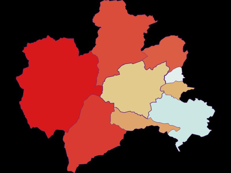 Population development since 1900 in Puchberg am Schneeberg