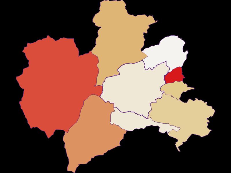 Population development since 2011 in Puchberg am Schneeberg