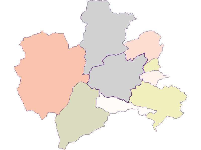 Farmers (comparison to federal state) in Puchberg am Schneeberg