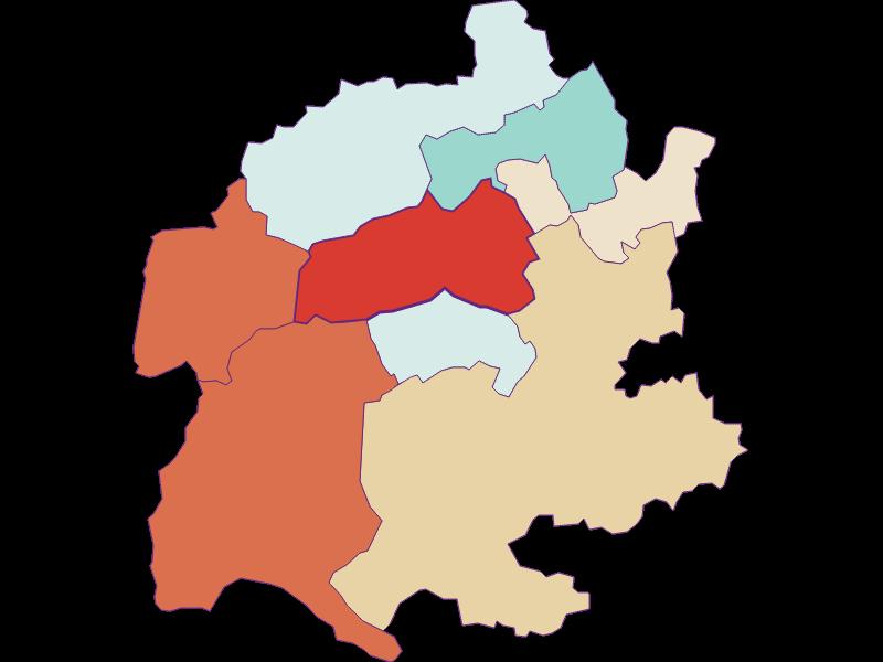 Population development since 1869 in Raach am Hochgebirge