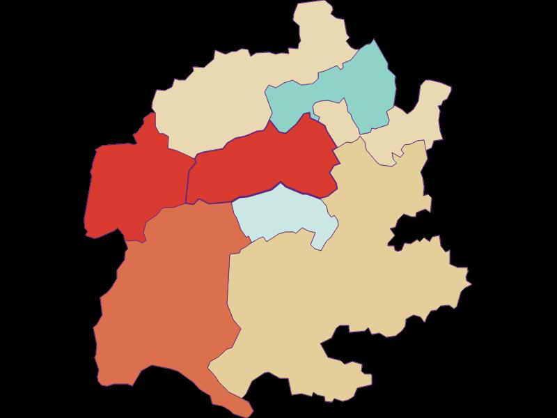 Population development since 1900 in Raach am Hochgebirge