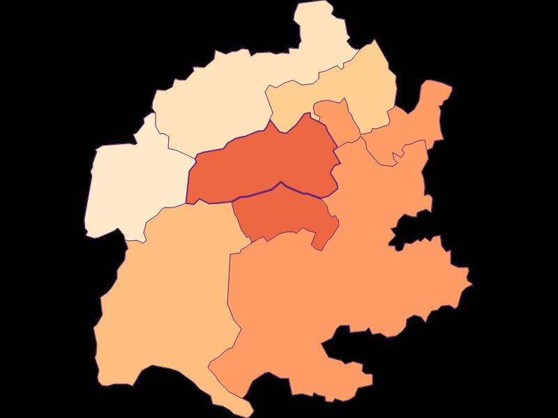 Household size in Raach am Hochgebirge