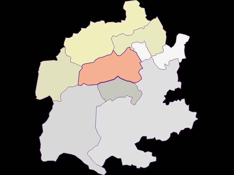 Farmers (comparison to federal state) in Raach am Hochgebirge