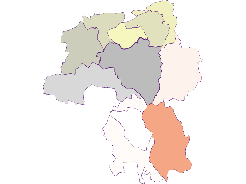 Farmers (comparison to federal state) in Scheiblingkirchen-Thernberg