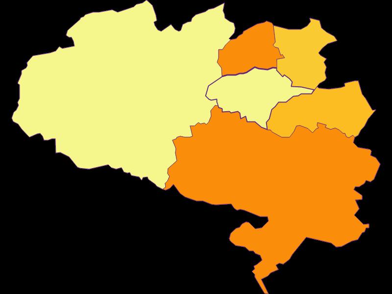 Population density in Schrattenbach