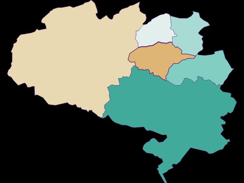 Population development since 1869 in Schrattenbach