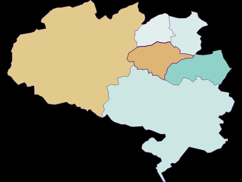 Population development since 1900 in Schrattenbach