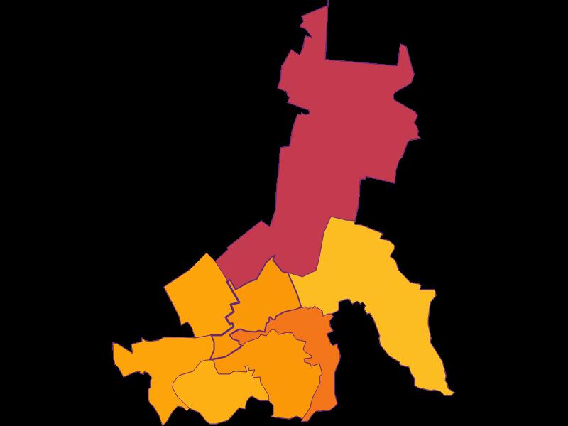 Плотность населения в Schwarzau am Steinfeld