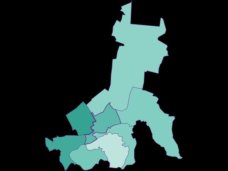 Демография с 1869 года в Schwarzau am Steinfeld
