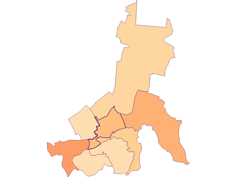 Размер домохозяйства в Schwarzau am Steinfeld