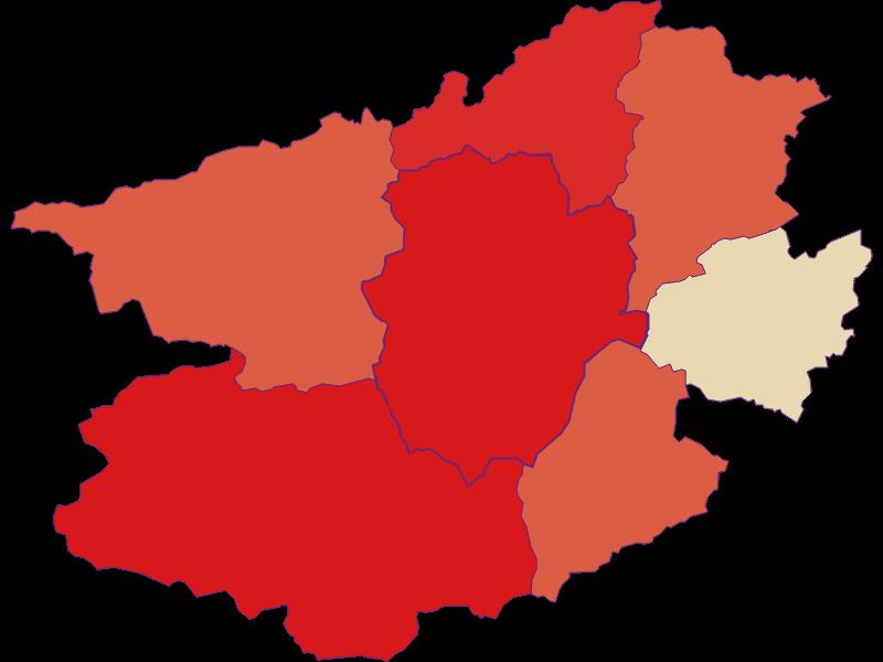 Прирост населения за 1869-2018 | Schwarzau im Gebirge