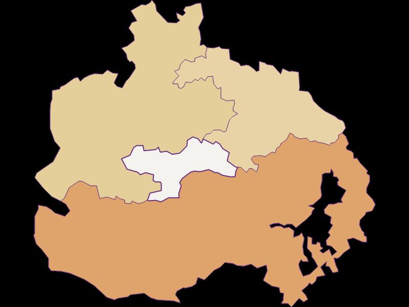 Population development since 1900 in St. Corona am Wechsel