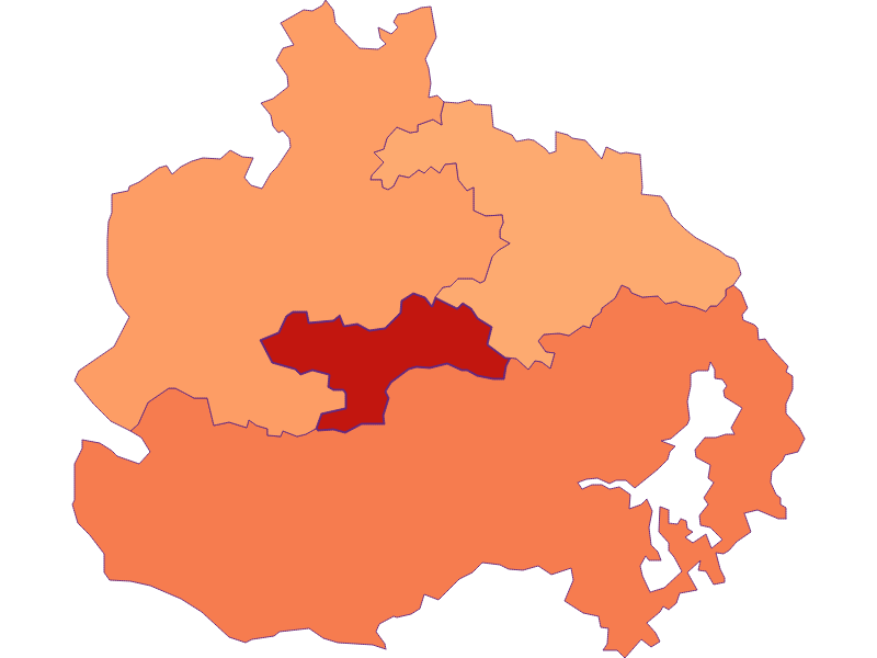 Household size in St. Corona am Wechsel