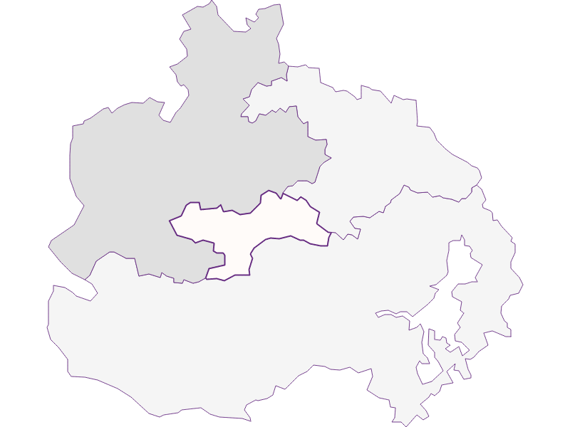 Farmers (comparison to federal state) in St. Corona am Wechsel