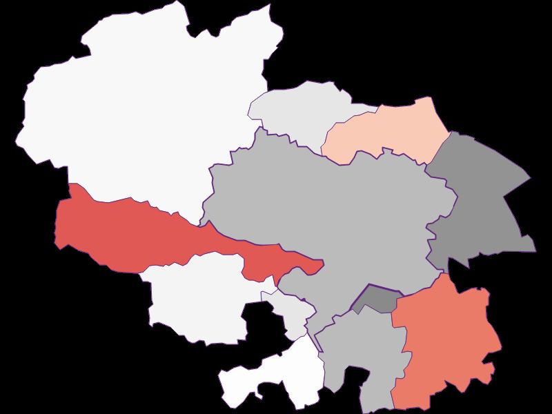 Activity rate in Ternitz