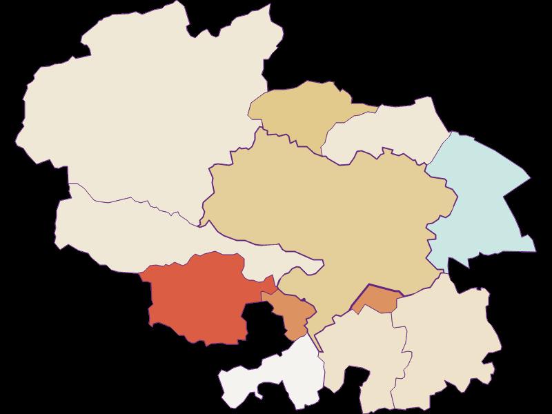 Population development since 2011 in Ternitz