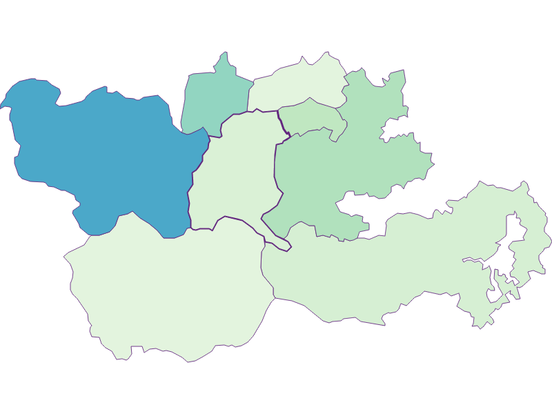 Share of foreigners in Trattenbach
