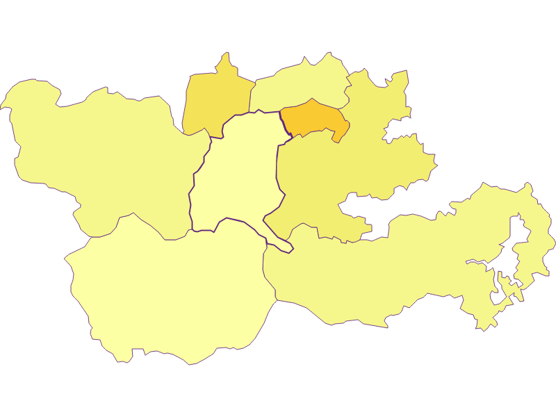 Population density in Trattenbach